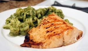 salmon-and-pesto
